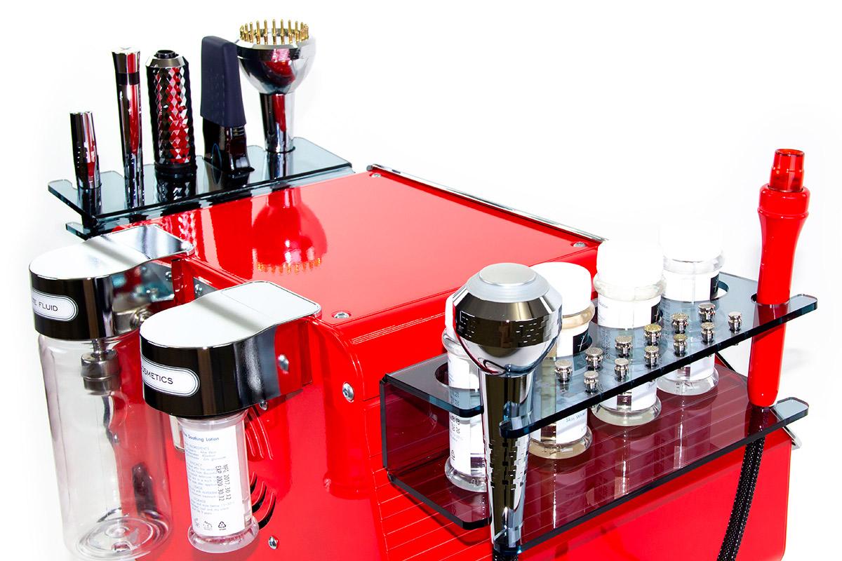 kosmetyczne urządzenie hydropeelingu próżniowego alviderm