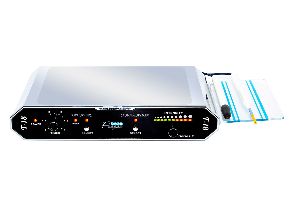elektrokoagulacja urządzenie elektrolizy włosów elektrokoagulacji t-18 urządzenia jednofunkcyjny -1