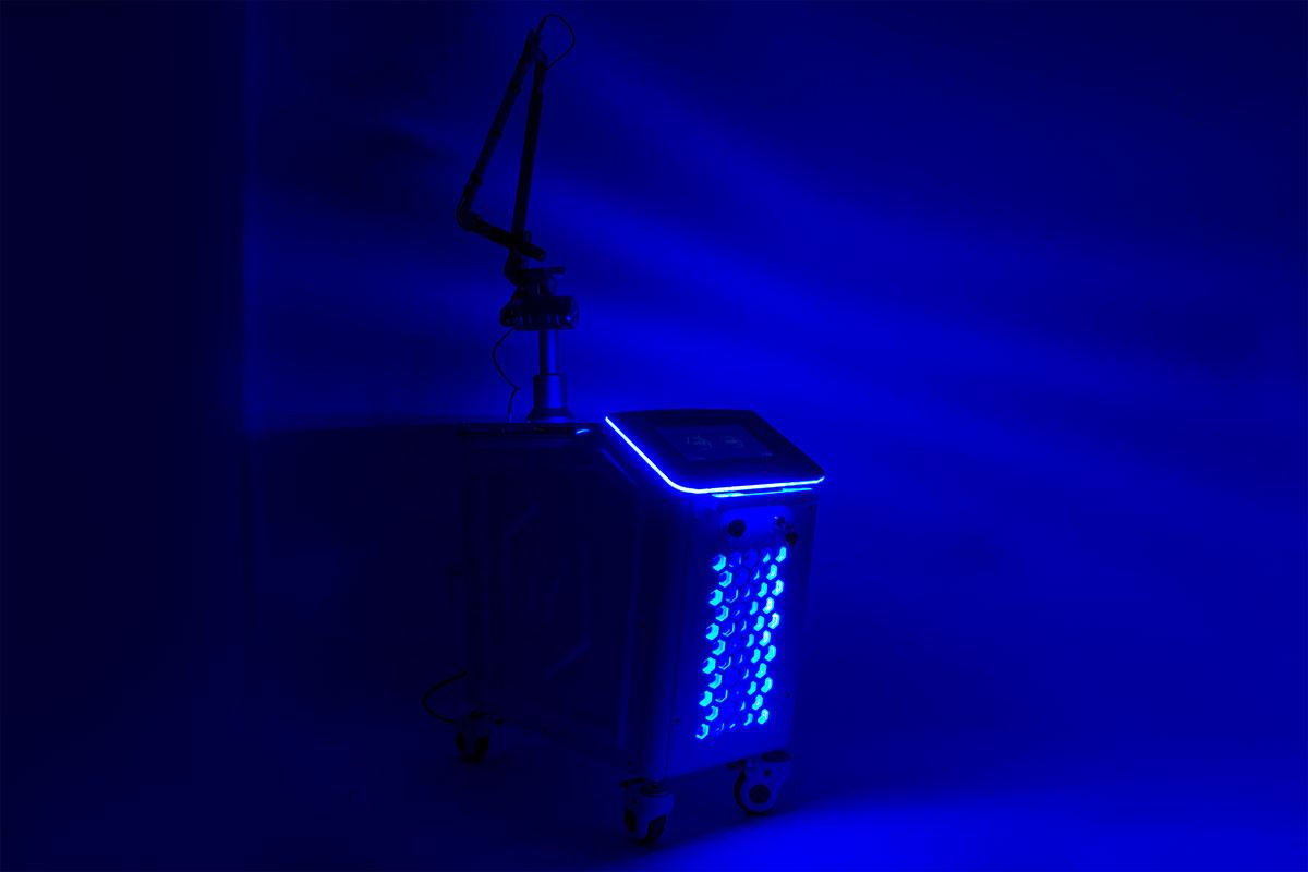 laser usuwania tatuażu pulsar tl-600 neo+