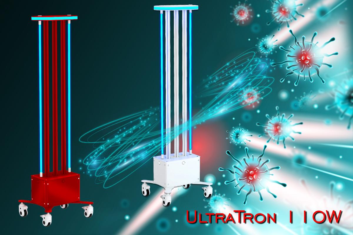 Kup Promiennik bakteriobójczy UltraTron-110W na 2 lampy w sklepie internetowym Alvi Praga - Cena od producenta - Dostawa w Polsce