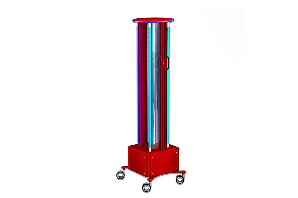 Promiennik bakteriobójczy UltraTron-220W na 4 lampy