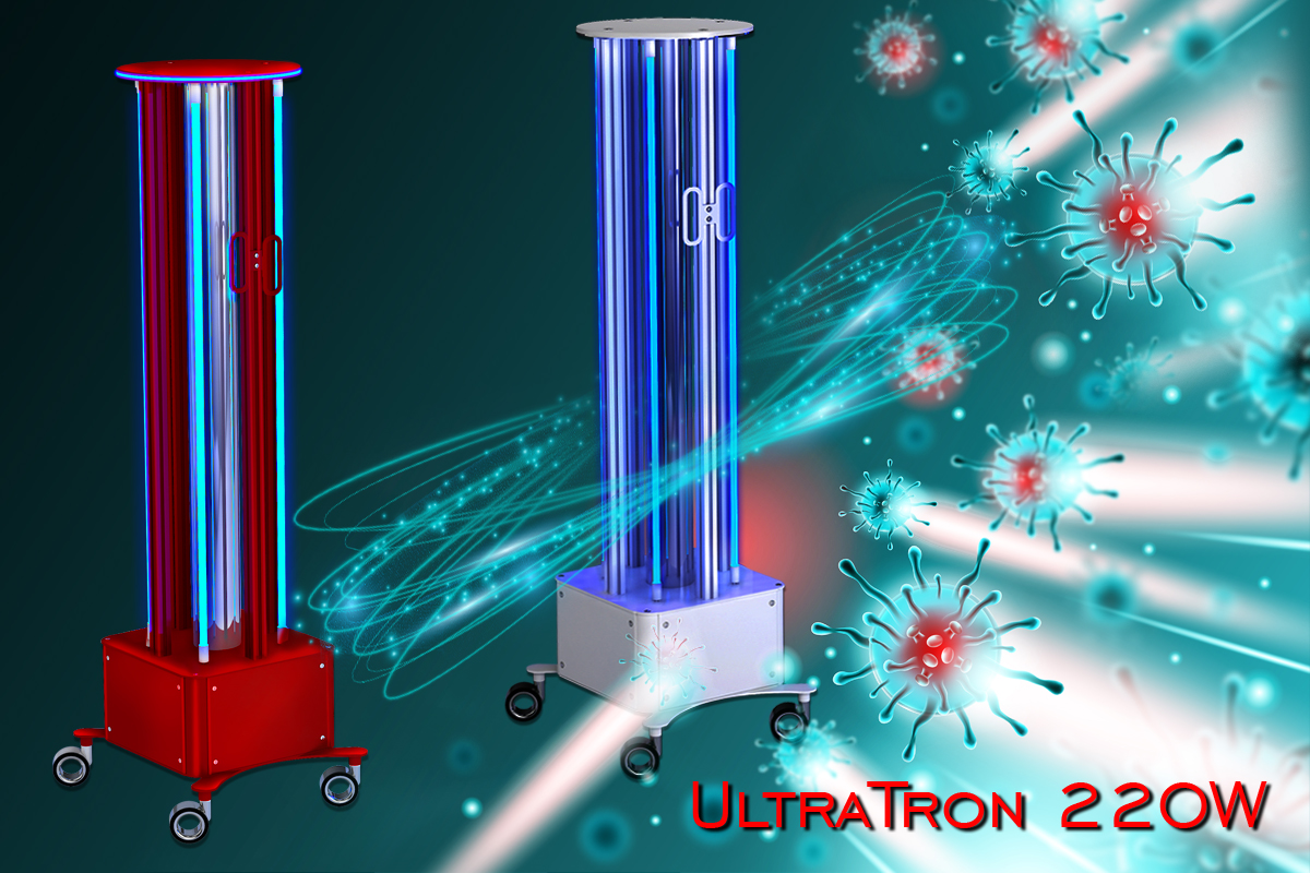 Kup Promiennik bakteriobójczy UltraTron-220W na 4 lampy w sklepie internetowym Alvi Praga - Cena od producenta - Dostawa w Polsce